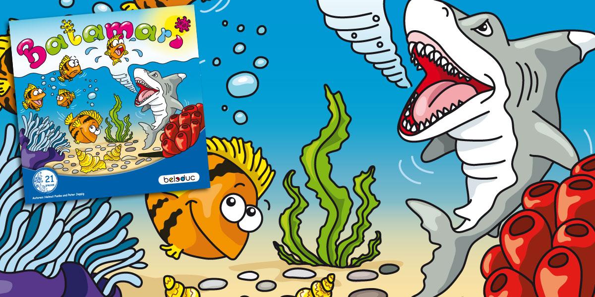 Balamari Fisch-Spiel Cover