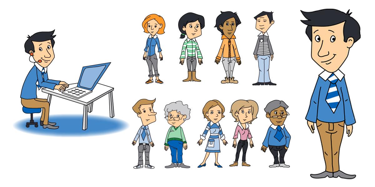 Charakterentwicklung Martin und seine Mitarbeiter