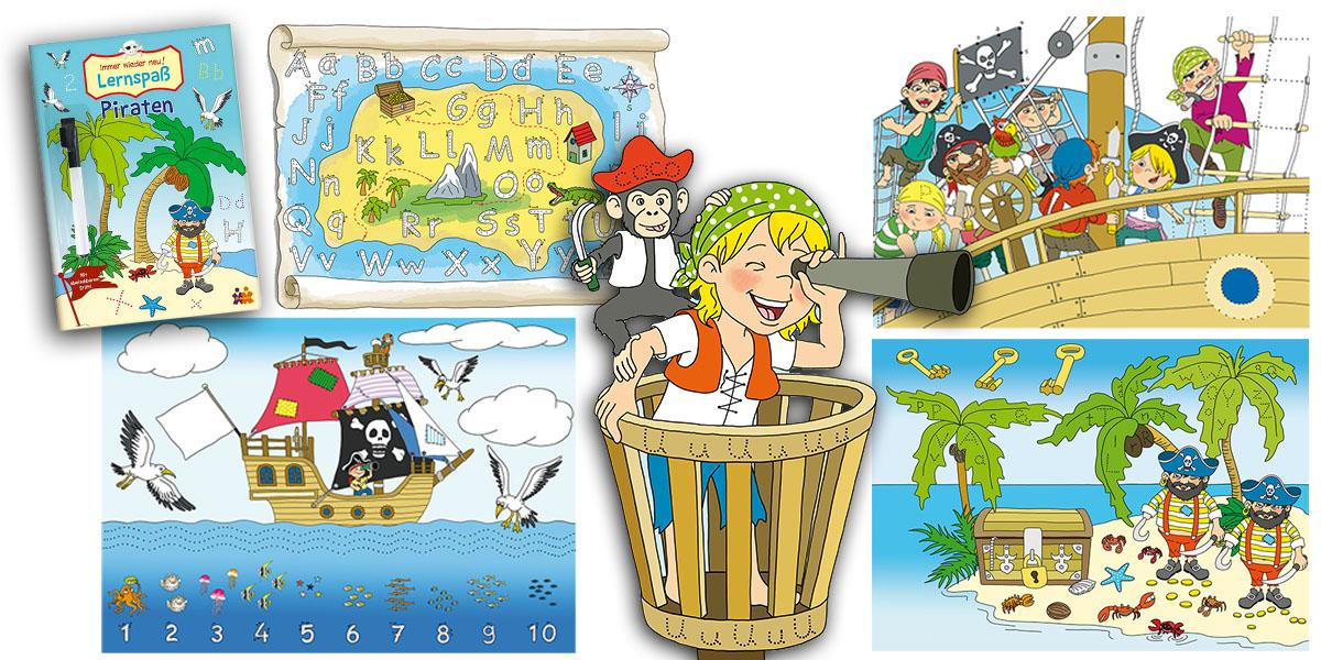 Lernspaß Piraten